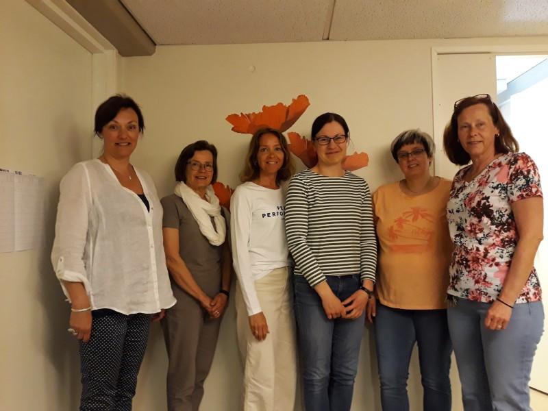 Personalen på omsorgsbyrån i Jakobstad