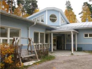 Blått hus