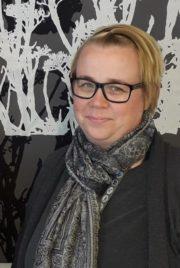 en bild på sjukskötare Mari Löfstedt