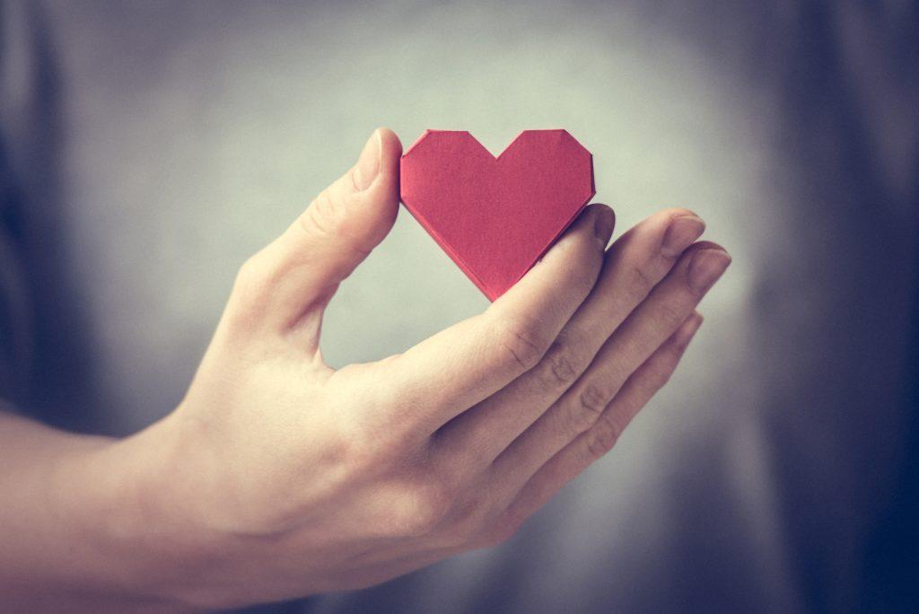 hjärta på rätt plats