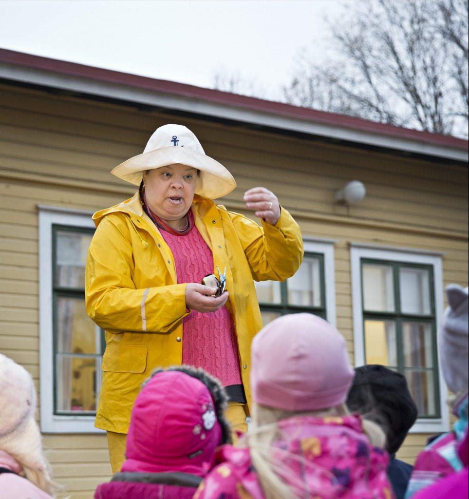 Oktober Barnträdgårdslärare